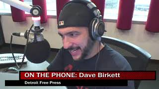 Valenti Show - Mike Talks With Dave Birkett On Lions Draft