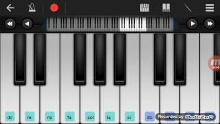 Not Piano - Sholawat Sholatum Bissalabilmubin (Walk Band Tutorial) Tutorial Piano