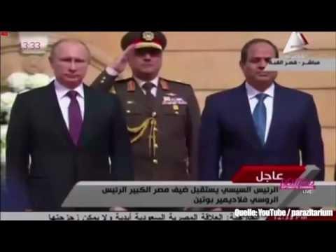 Militärkapelle quält Putin