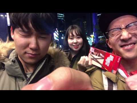 Picking up girls in Gangnam [SEOUL CITY VIBES EP.5]