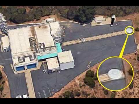 Flying saucer' UFO spotted on runway of NASA's Jet Propulsion Labs