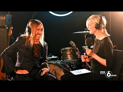 Iggy Pop live for 6 Music (Full performance & interview)