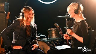 Iggy Pop live for 6 Music (Full performance \u0026 interview)