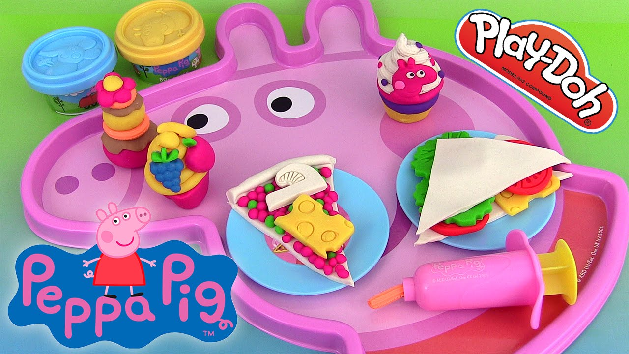 peppa pig p te modeler pupitre d 39 activit s activity desk. Black Bedroom Furniture Sets. Home Design Ideas