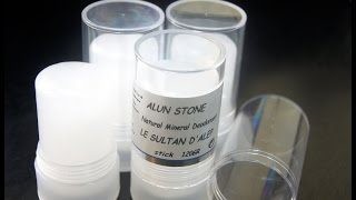 Природный дезодорант алунит квасцы - лохотрон