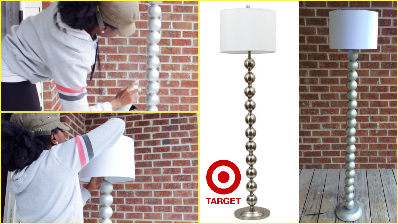 DIY | Target Inspired Ball Floor Lamp   YouTube