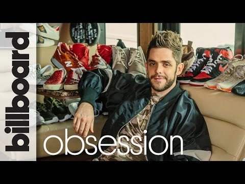 Thomas Rhett's Epic Sneaker Collection: Can He Guess Them Blindfolded?   Billboard's Obsession