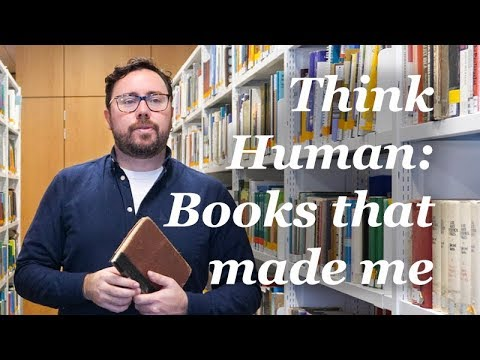 Books That Made Me: Dr Patrick Alexander | Think Human Festival | Oxford Brookes University