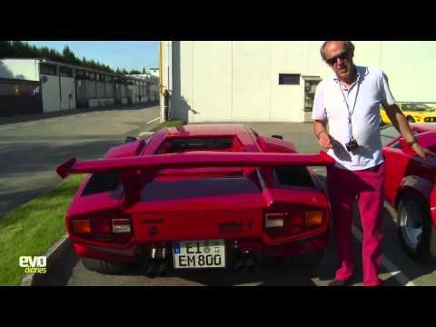 Lamborghini V12 timeline