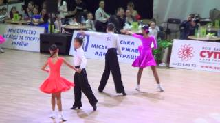 409 Ukrainian Open 2015 Juvenile 2 Latin Final Cha-cha-cha