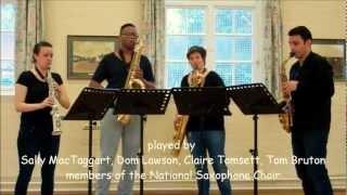 The Right Time – saxophone quartet music