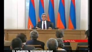 Azeri Killer Ramil Safarov is Free    President of Armenia S