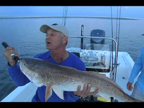Redfishing  With Captain Marty LaCoste (Part1)