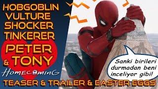 Video Spider Man Homecoming Evrensel Fragman İncelemesi I Teaser & Trailer download MP3, 3GP, MP4, WEBM, AVI, FLV Januari 2018