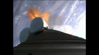 2012 Feb 24:  MUOS-1 Launch on Atlas 5 -- First Stage Forward-looking RocketCam View
