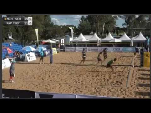 Beachvolley 2017-McHugh/Schumann vs.Kapa/Seymour WORLD TOUR 1* - MEN: Shepparton