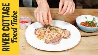 Veal Steak with Blushing Tomatoes | Tess Ward