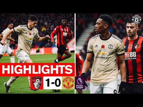 Highlights | A.F.C. Bournemouth 1-0 Manchester United | 2019/20 Premier League