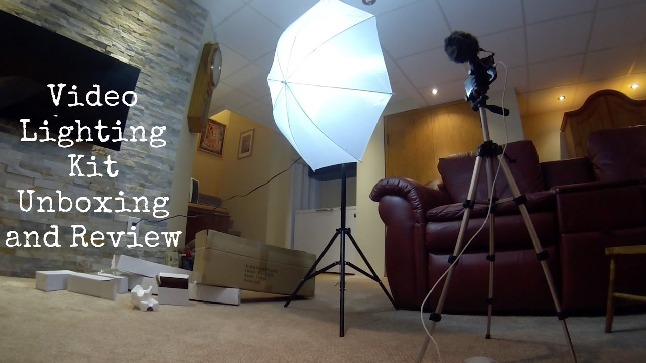 Video Lighting Kit Canadian Studio Unboxing Review
