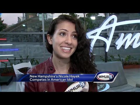 NH's Nicole Hayek auditions for 'American Idol' - YouTube