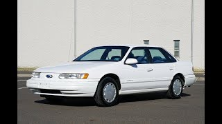 4K Review 1995 Ford Taurus Virtual Test-Drive & Walk-around