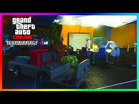 "GTA 5 Online - BUNKERS EXPLAINED! - How To Buy/Use A Bunker - ""GTA 5 ONLINE GUN RUNNING DLC"""
