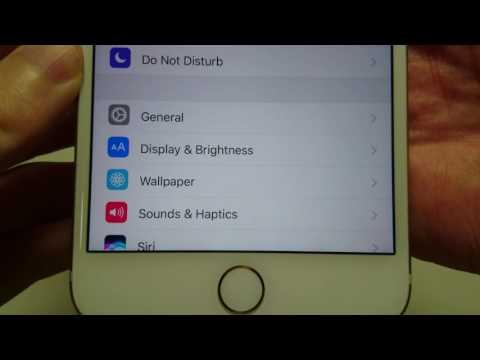 iPhone 7 How to Change Ringtone iOS 10