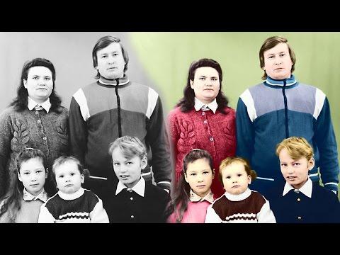 Делаем цветное фото из чёрно-белого в AKVIS Coloriage.
