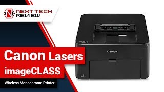 Canon Lasers imageCLASS LBP151dw Wireless Monochrome Printer Product Review – NTR