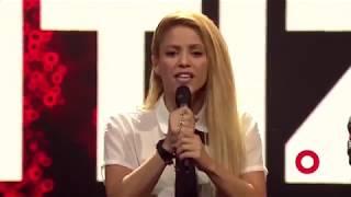 Shakira Calls for Education for All Children at Global Citizen Festival Hamburg
