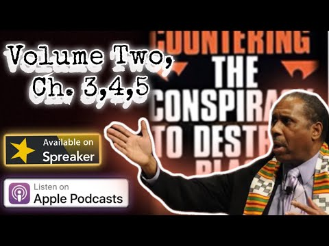 Vol 2, Chapters 3.4.5: Countering the Conspiracy to Destroy Black Boys
