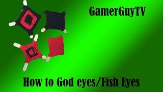 How to make Gods eyes / Fish eyes | DIY | E5