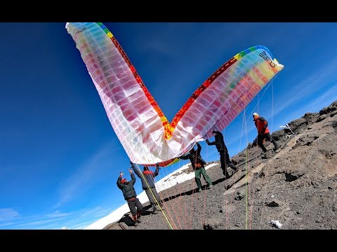 Video: Paragliding From the Summit of Mt. Kilimanjaro