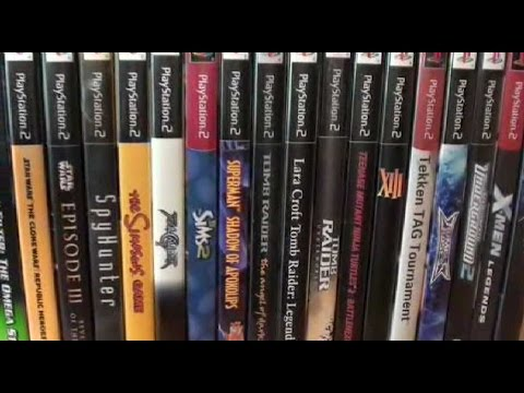 Playstation 2 - Video Game Collection