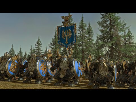 Beastmen Vs The Dwarfs | 11,000 Unit cinematic Battle | Total War Warhammer 2 |