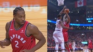 Kawhi Leonard SHUTS UP TRISTAN THOMPSON FOR TRASH TALKING RAPTORS IN DEBUT! Cavaliers vs Raptors