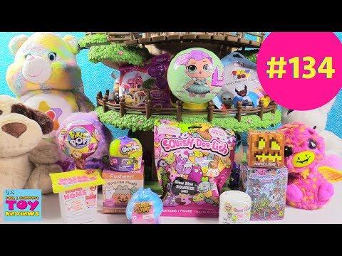 Blind Bag Treehouse #134 Unboxing LOL Surprise Num Noms Pikmi Pops Toy Review | PSToyReviews