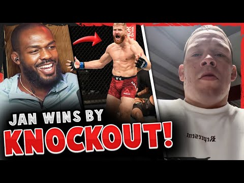 Jon Jones Predicts Israel Adesanya To Get KNOCKED OUT, Nate Diaz GOES OFF On Conor McGregor, UFC 259