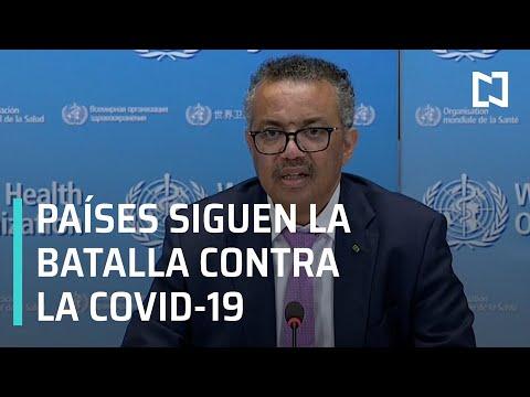 OMS: pandemia por COVID- 19 puede complicarse - Las Noticias