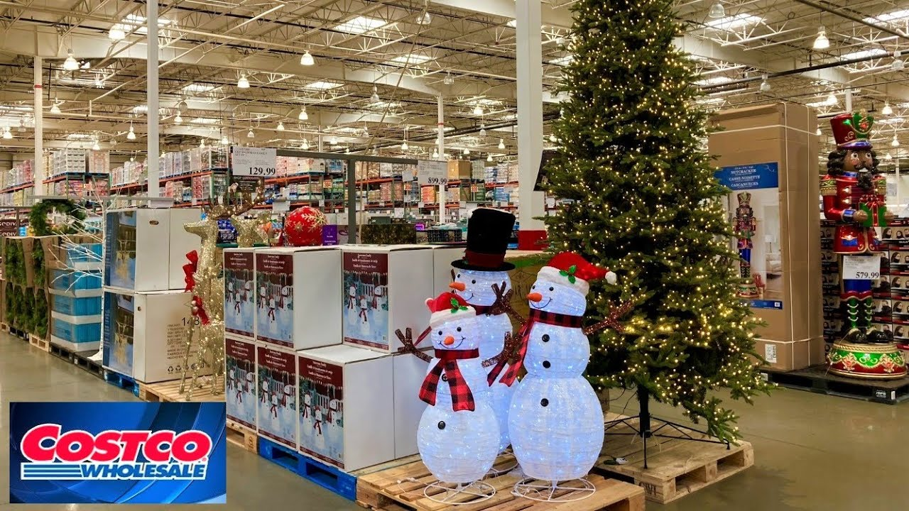 Download COSTCO CHRISTMAS DECORATIONS CHRISTMAS TREES DECOR ORNAMENTS SHOP WITH ME SHOPPING STORE WALKTHROUGH