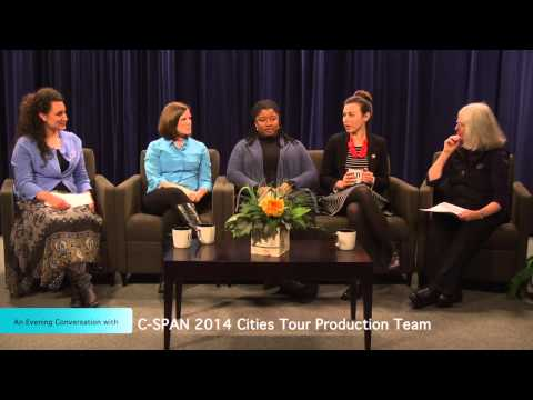 An Evening Conversation with C-SPAN 2014 Cities Tour Production Team
