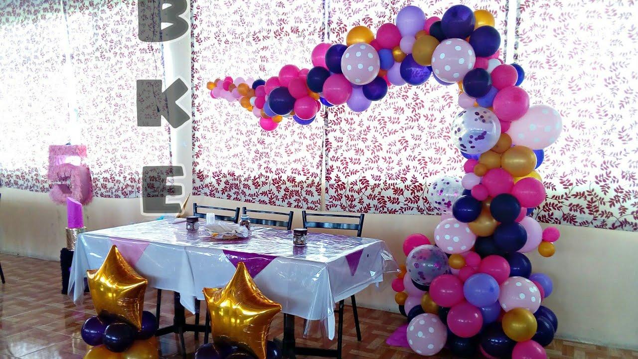 Como hacer arco vintage organico decoraci n con globos for Como hacer decoracion con globos