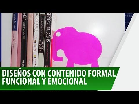 Diseños con contenido formal funcional y emocional - Nos Cogió La Noche
