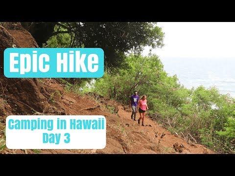 Hawaii Vlog ~ Camping and Hiking Day 3