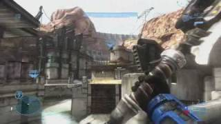 Halo: Reach Gameplay! Gravity Hammer killing spree!