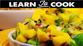 Learn How to Prepare Avocado, Tomato and Mango Salsa Recipe in Home