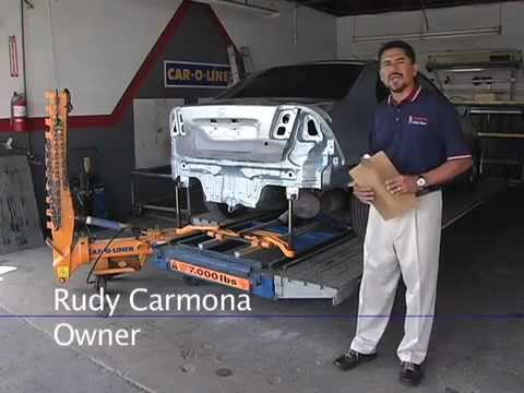 714 871 3237 frame straightening carmonas collision auto body repair