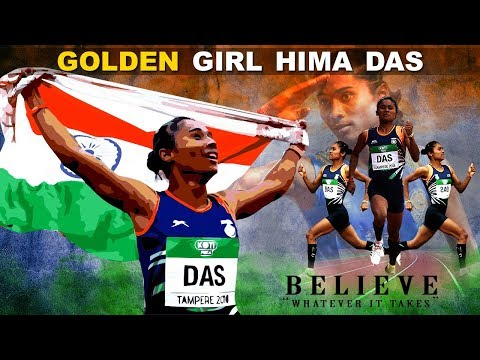Hima Das Success Story l Historic Win