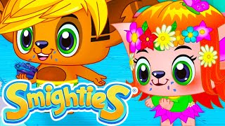 Smighties - Cake Contest Party and Bubble Challenge | Funny Cartoon Video | Cartoons for Kids