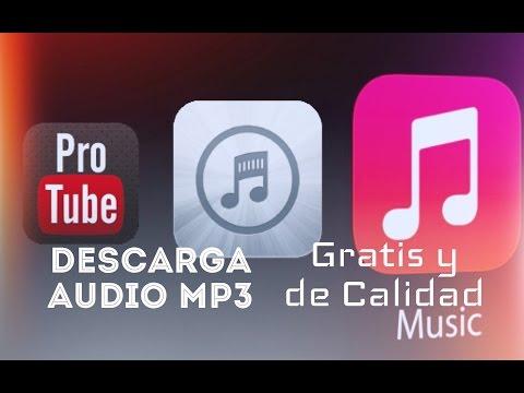 Descarga Audio mp3 con ProTube y Bridge DETALLADO